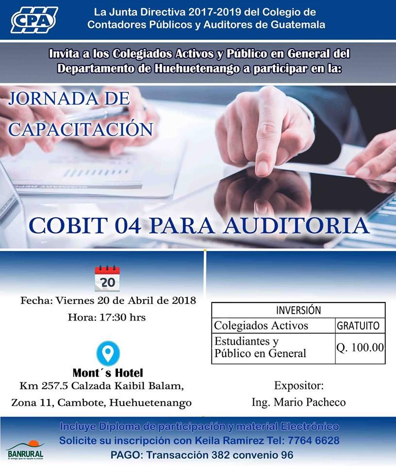 COBIT para Auditoria Huehuetenango