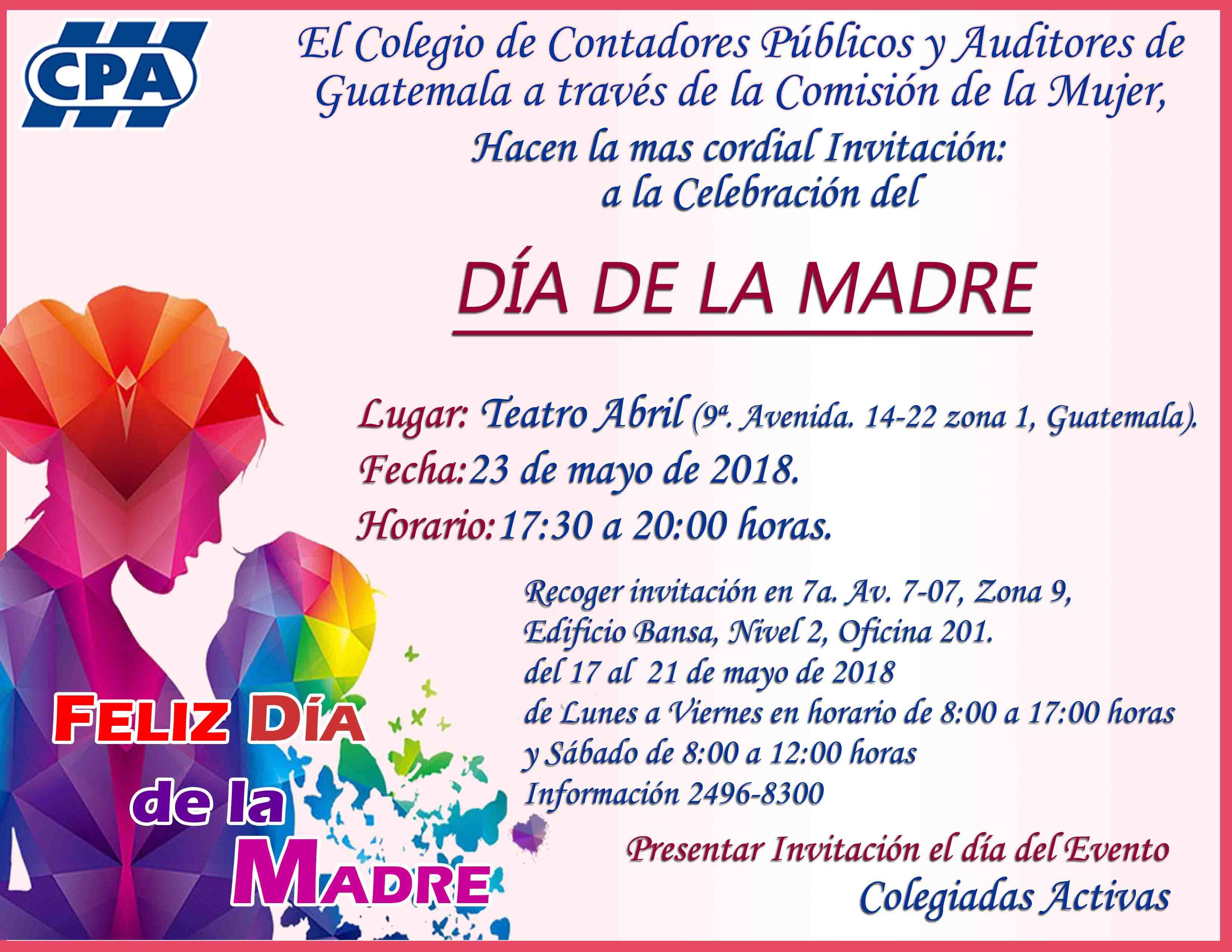 Celebración «Día de la Madre» Guatemala Sede Central