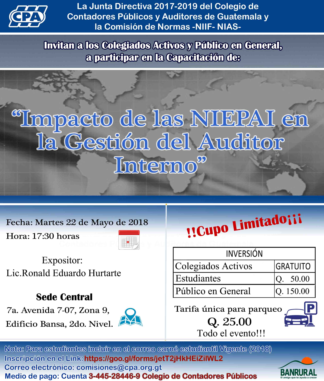 Capacitación NIEPAI Guatemala