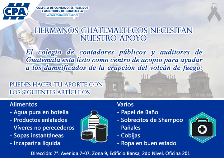 HERMANOS GUATEMALTECOS NECESITAN NUESTRO APOYO
