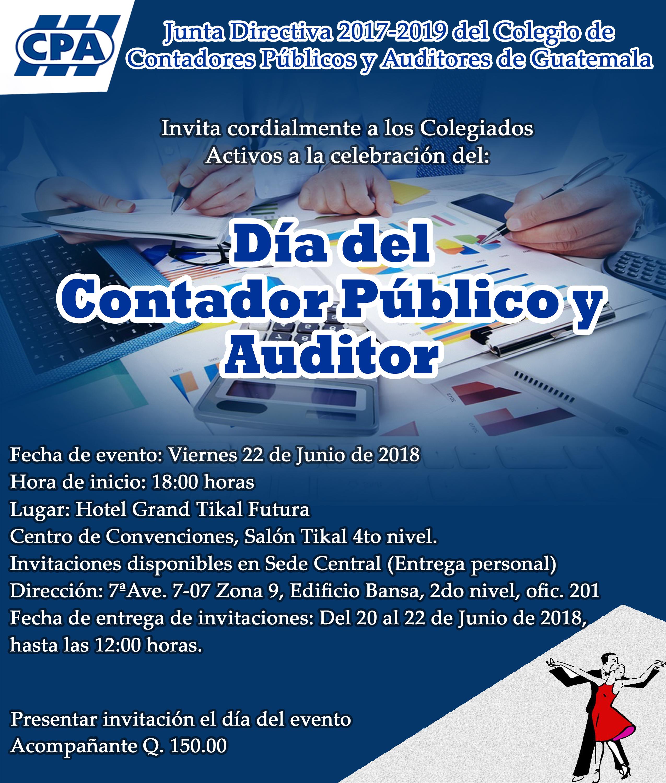 """Celebración """"Día del Contador Público y Auditor"""" Guatemala"""