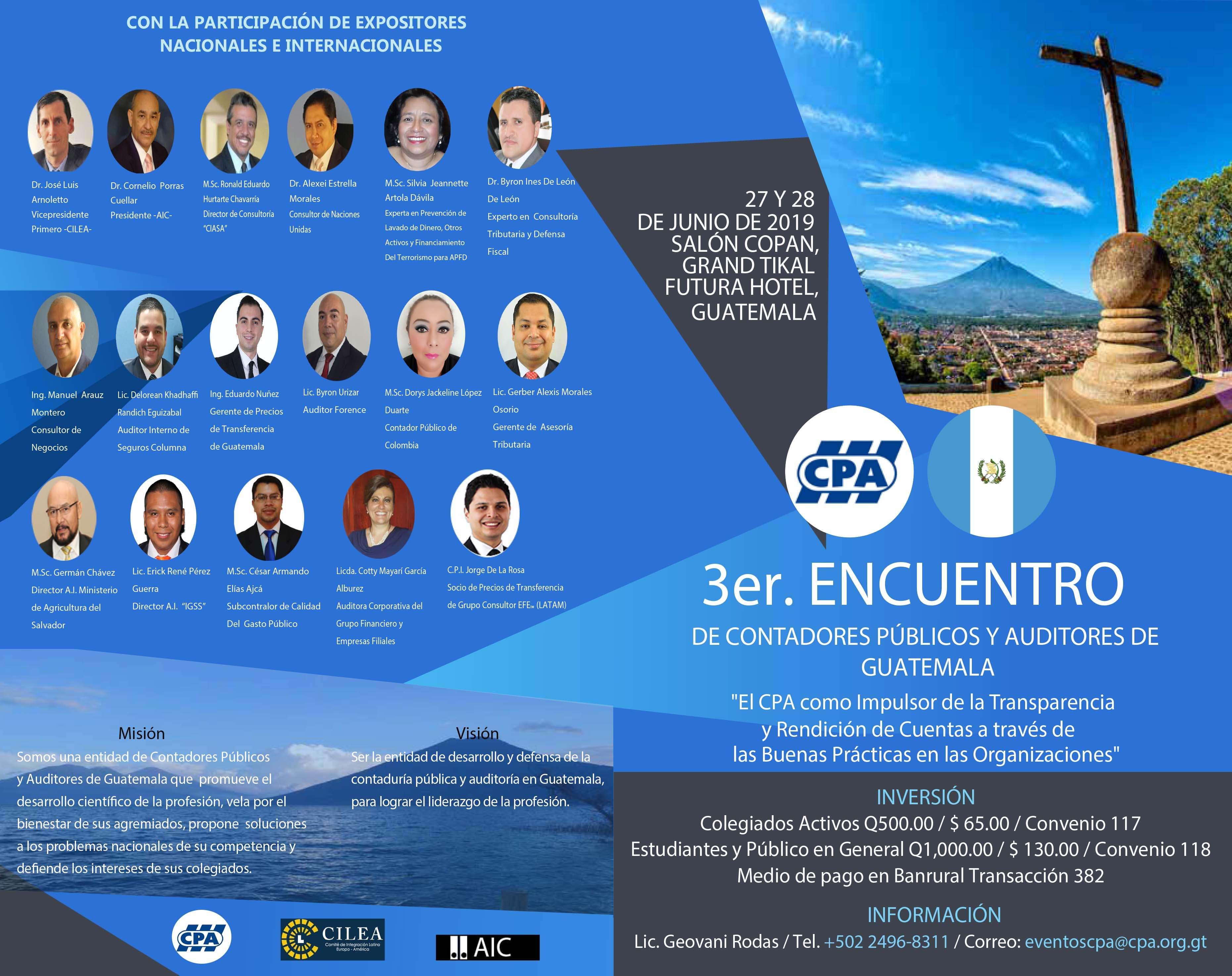 3er Encuentro de Contadores Públicos y Auditores