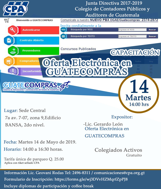Oferta Electrónica en Guatecompras