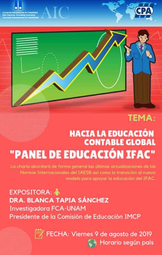 Videoconferencia: HACIA LA EDUCACIÓN CONTABLE GLOBAL «PANEL DE EDUCACIÓN IFAC»