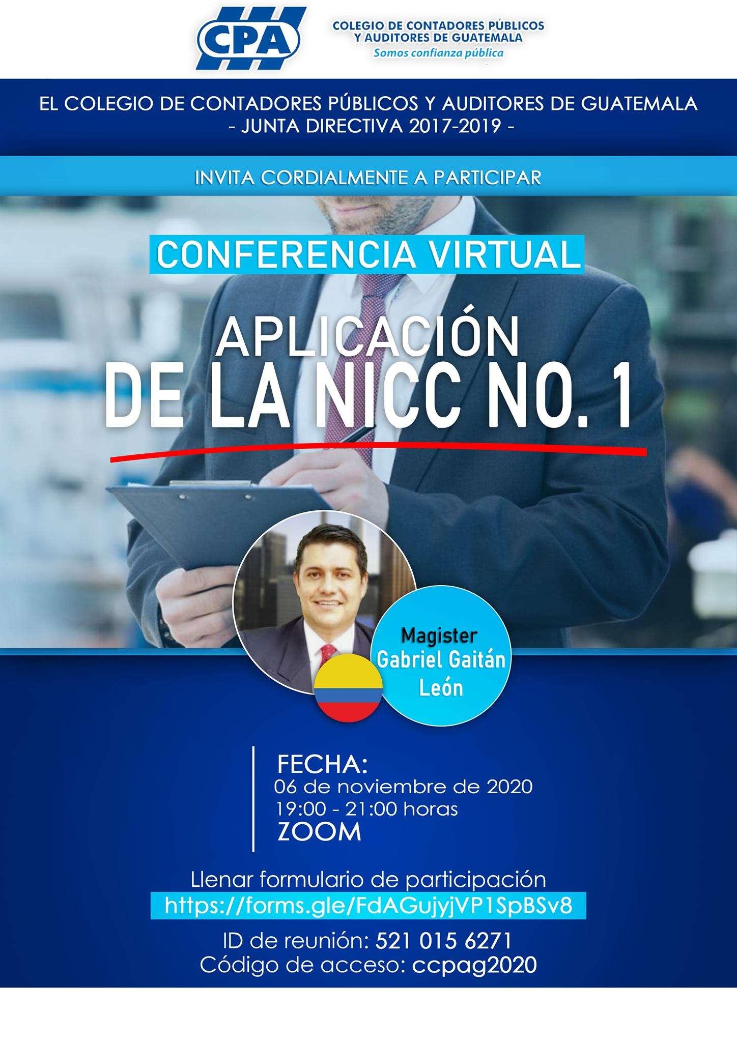 APLICACION DE LA NICC NO.1 06112020