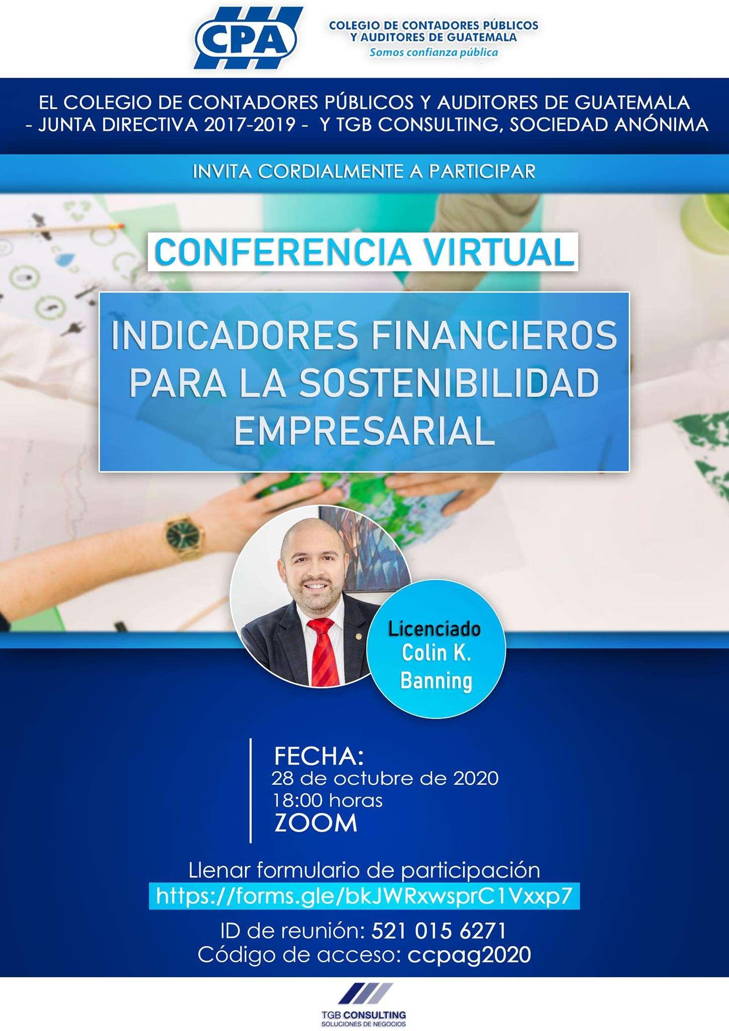 INDICADORES FINANCIEROS PARA LA SOSTENIBILIDAD EMPRESARIAL 28OCT20