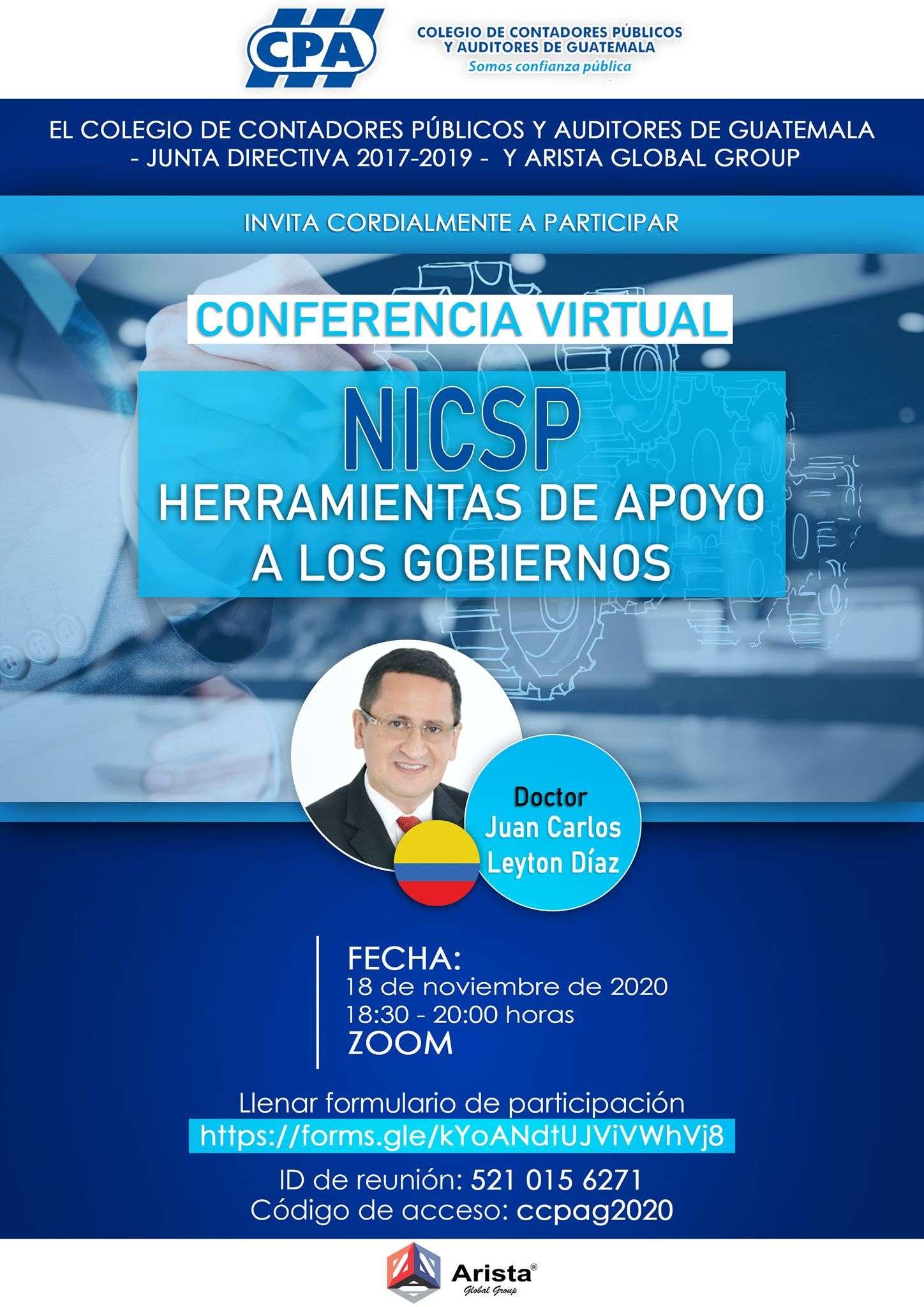 NICSP HERRAMIENTAS DE APOYO A LOS GOBIERNOS 18NOV20