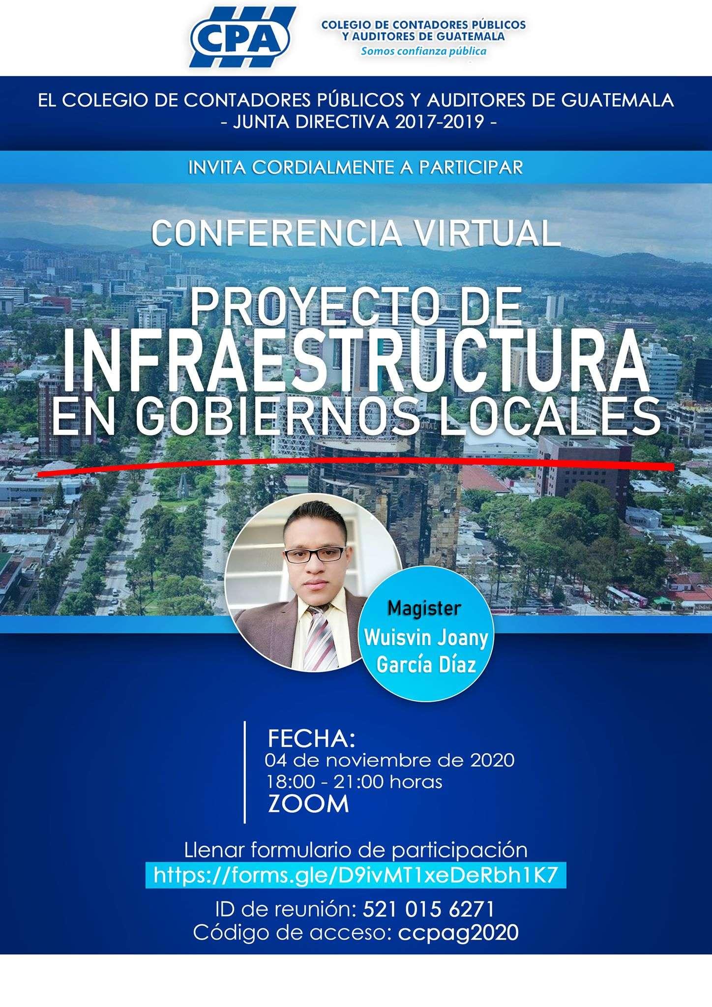 PROYECTO DE INFRAESTRUCTURA EN GOBIERNOS LOCALES 04112020