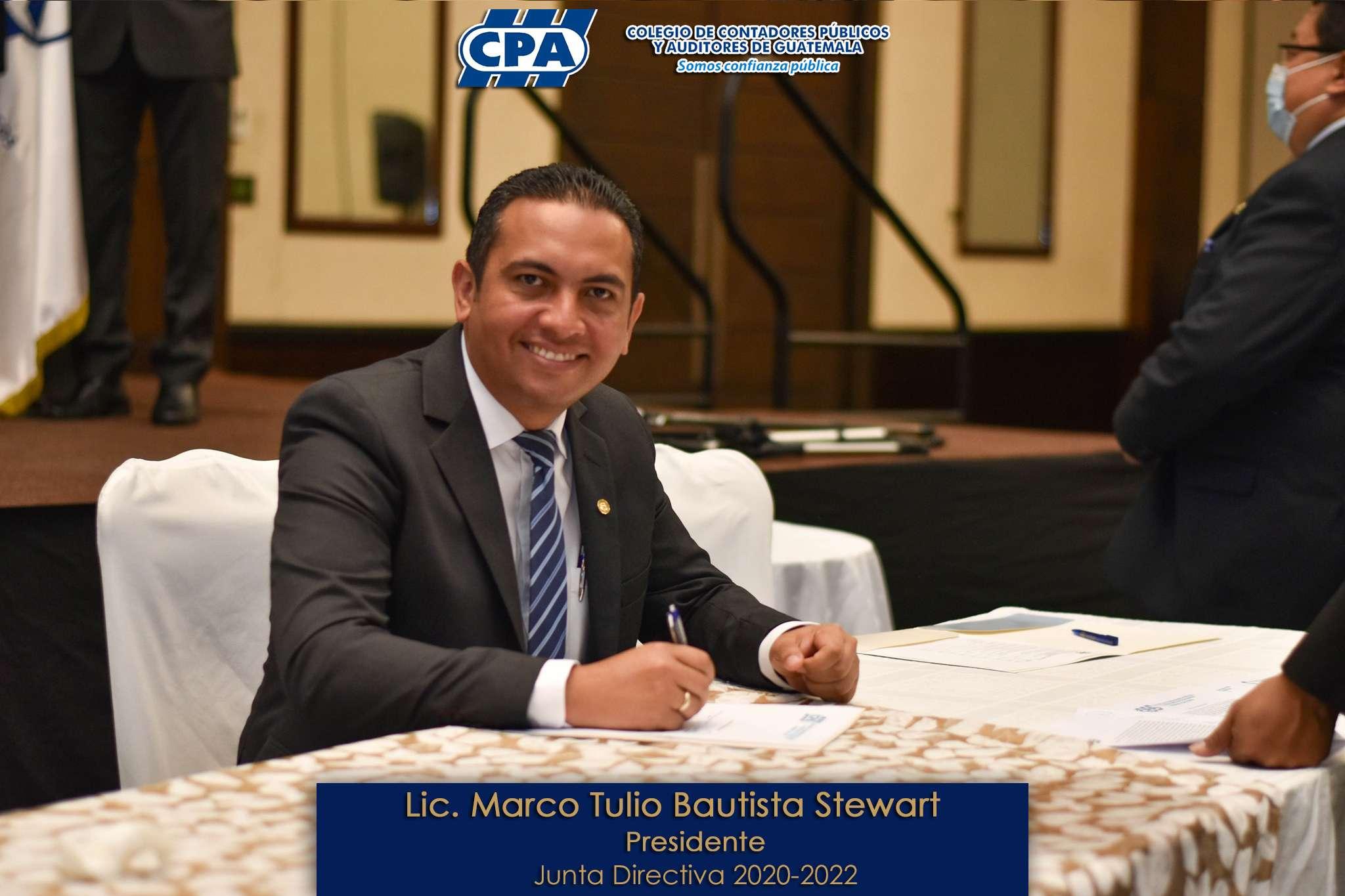 Lic Marco Tulio Bautista Stewart